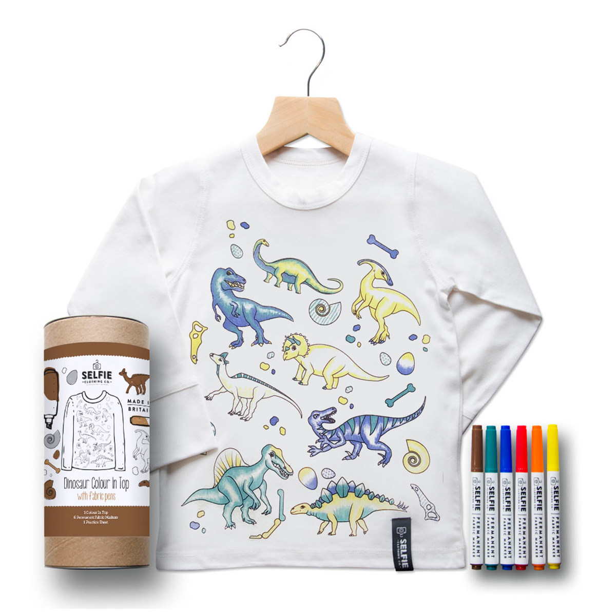 Selfie Clothing Co Colo In Top Dinosaur