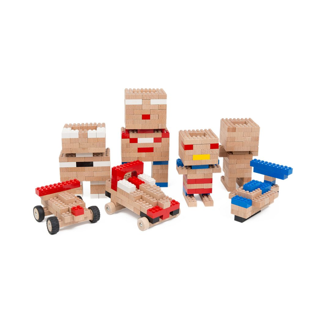 Once Kids Eco Bricks 145 Piece