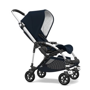Bugaboo Classic Collection Bee 5 Stroller with aluminum frame & dark navy