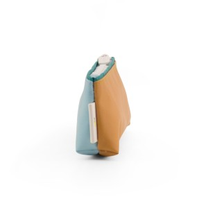 Sticky Lemon Pencil Case Blue & Caramel