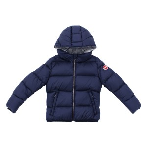 Colmar Hooded Puffer Jacket in Navy
