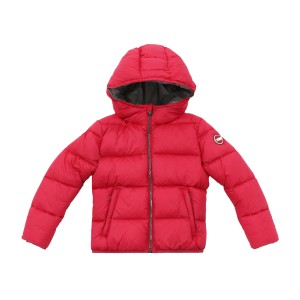 Colmar Hooded Puffer Jacket in Pink