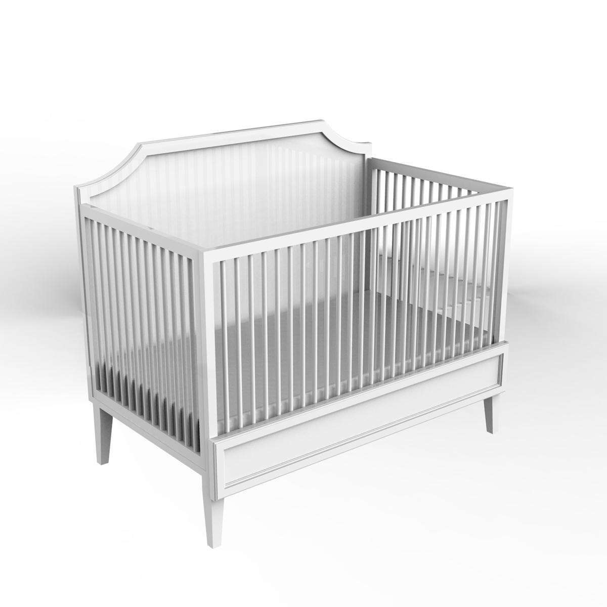 Ducduc Litchfield collection crib white