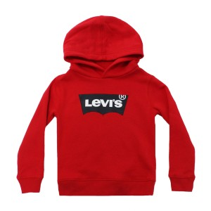 Levi's Hoodie in Red with Batwing Levi's logo