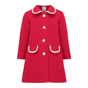 Great British Baby Company Kensington Coat Pillar Box Red