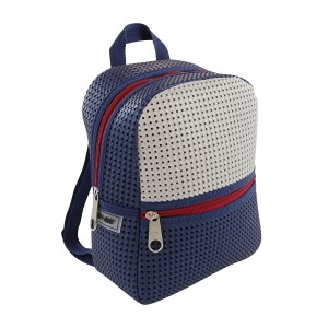Light + Nine Little Miss Backpack in American Blue