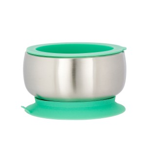 Avanchy Stainless Steel Stay Put Bowl and Lid