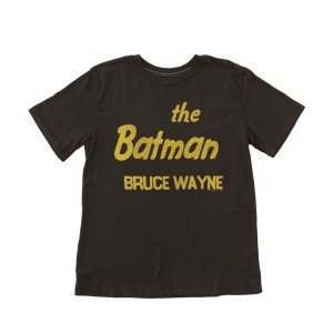 Junk Food Clothing Short Sleeve Tee Batman Bruce Wayne Print