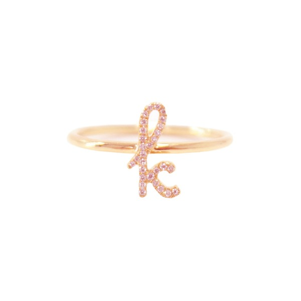 c14755c32 Sue Gragg Personalized Diamond Initial Ring - TheTot