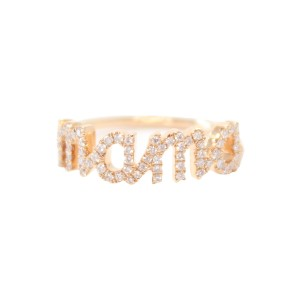 Sue Gragg mama rose gold ring