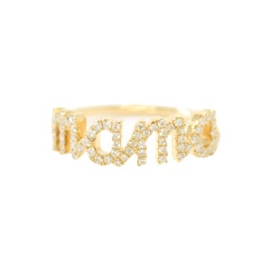 Sue Gragg Yellow Gold Mama Ring