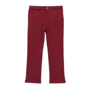 Crew Chino Pants in Maroon