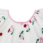 GulHurgelAW18GirlsFlutterSleeveDressCherry2