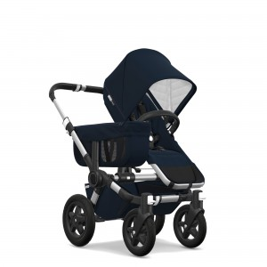 Bugaboo Classic Collection Donkey 2 Mono Stroller Aluminum frame with dark navy