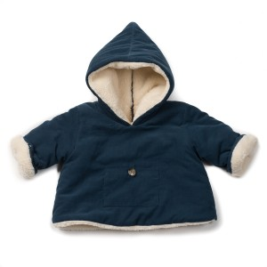 Bonton Hooded Baby Jacket