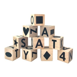 Modern Blocks Counting Shapes and Alphabet Set