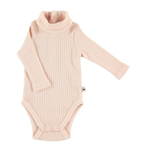 My Little Cozmo Light Pink Turtleneck Bodysuit