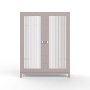 DucDuc Cabana Wooden Armoire in Solid Color Glaze on Maple