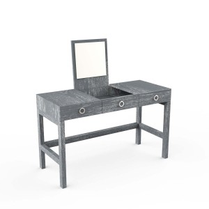 DucDuc Cabana Wooden Vanity in Dark Grey Cerused