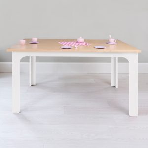 Nico & Yeye Kids Craft Table Maple