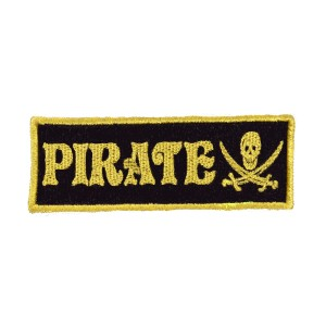 Mooders Backpack Patch Pirate