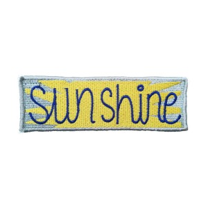 Mooders Backpack Patch Sunshine
