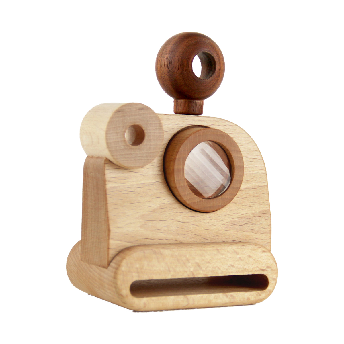 Father's Factory polaroid wooden camera toy