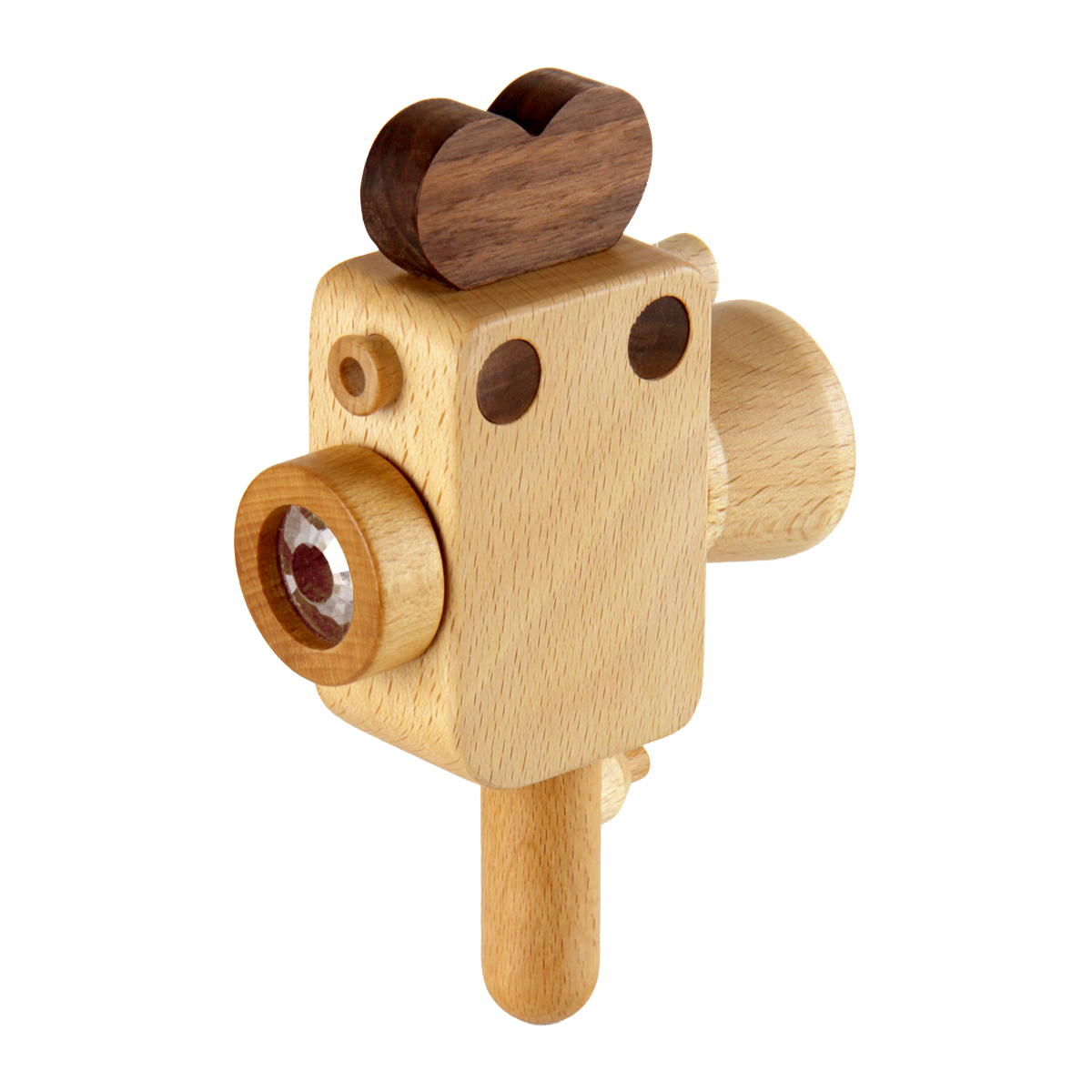 Father's Factory Super 8 wooden camera toy