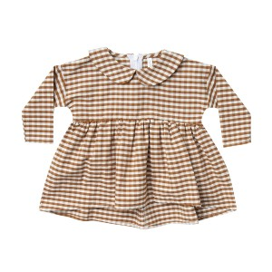 Rylee & Cru Dress Collared Gingham