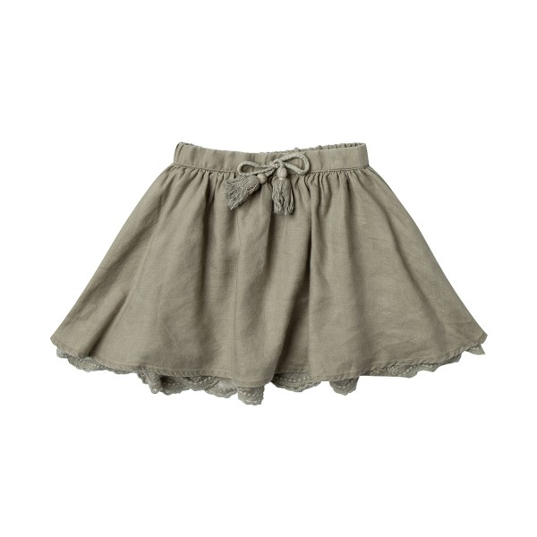 RyleeCruAW18SkirtSolidMiniOlive