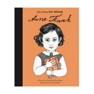 Little People Big Dreams Anne Frank Hardcover Book