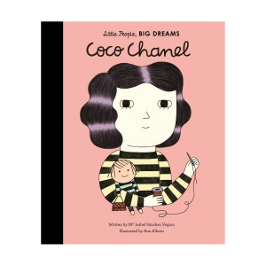 Little People Big Dreams Coco Chanel Hardcover Book