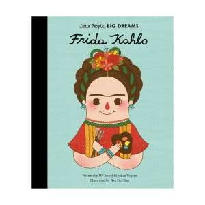 Little People Big Dreams Frida Kahlo Hardcover Book