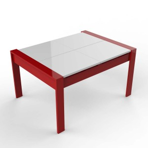 DucDuc Austin Play Table in Red & White