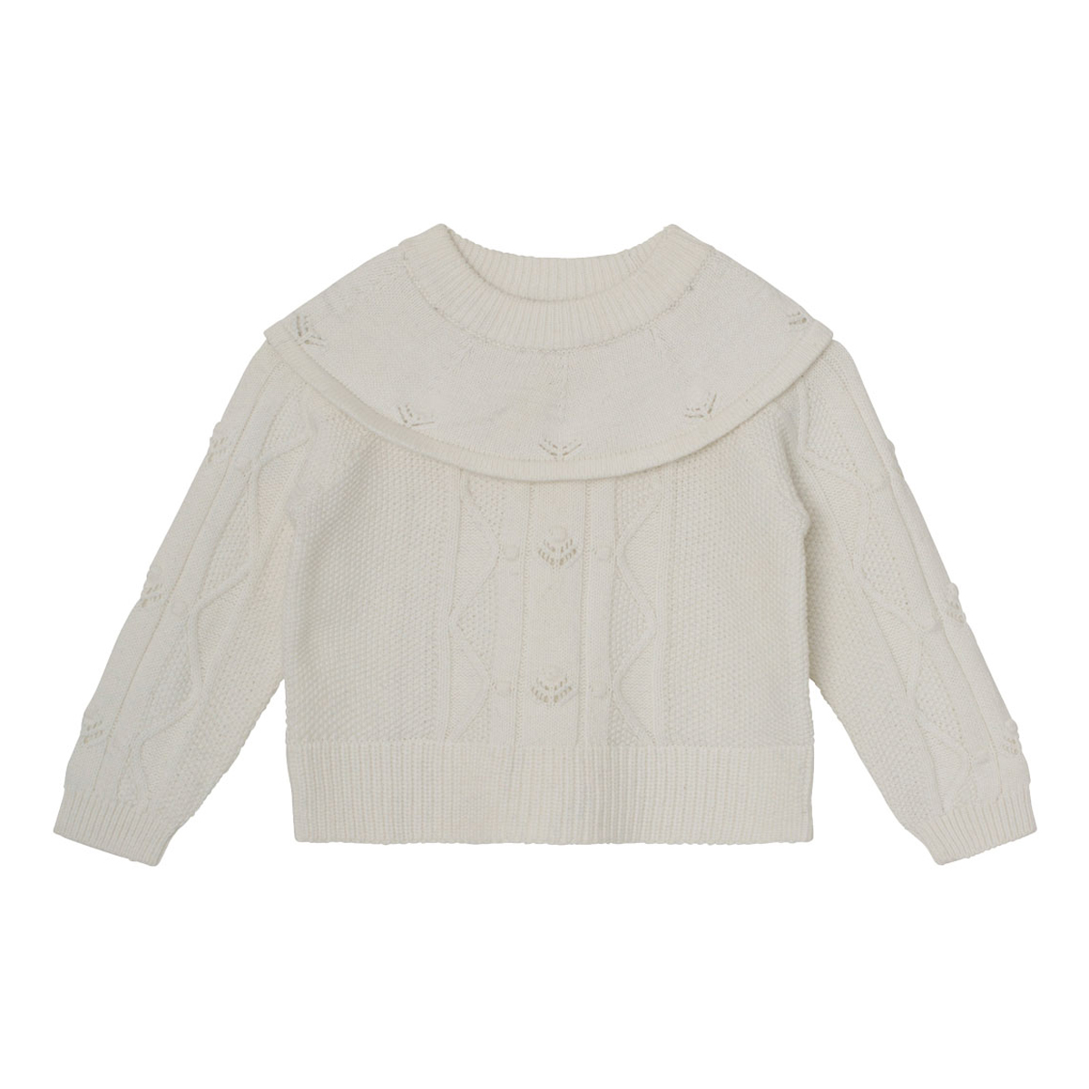 MiniATure Trisha sweater in white