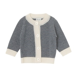 MiniATure Ursul Cardigan in Navy