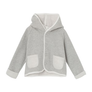 MiniATure Matheo Hoodie in Light Grey