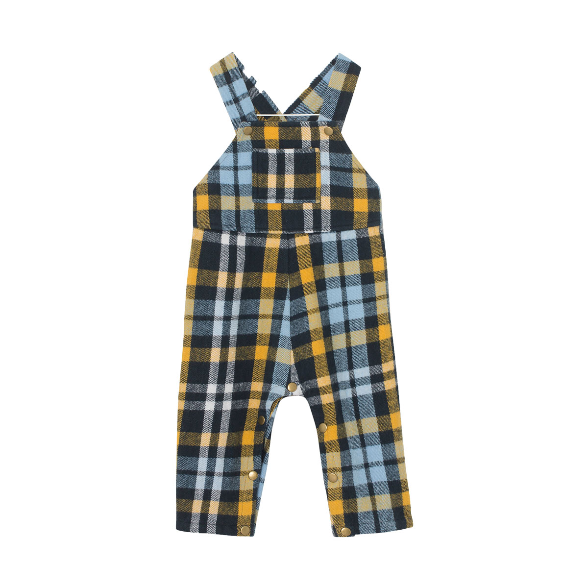 MiniATure Arne Overall in blue check