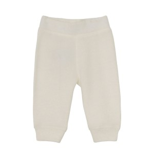 MiniATure Jordy Pant in white with carrot