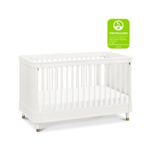 Million Dollar Baby Tanner Crib in White