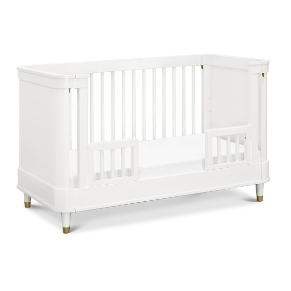 Tanner 3-in-1 Convertible Crib in Warm White