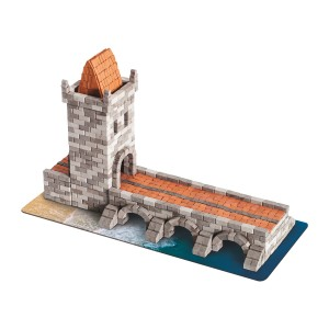 Wise Elk Bridge Mini Brick Construction Set