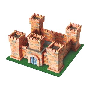 Wise Elk Dragons Castle Brick Construction Set