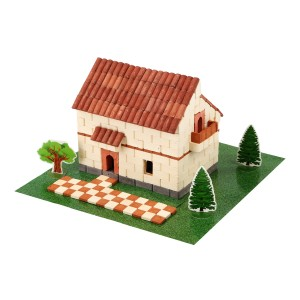 Wise Elk Irish House Brick Construction Set
