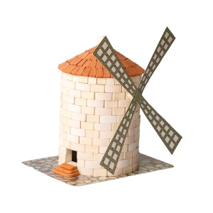 Wise Elk Windmill Brick Construction Set