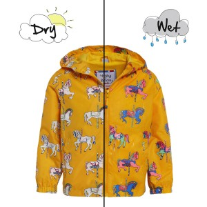 Holly & Beau Color Changing Rain Coat