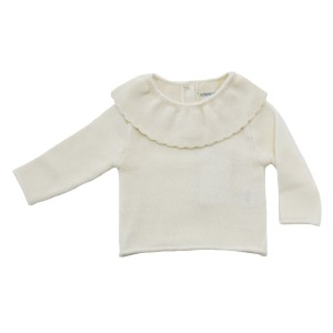 Lous Louise Pull Audrey Sweater in Cream