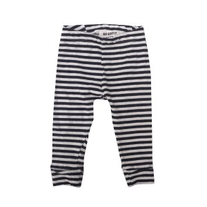 Go Gently Nation Pencil Pant in Navy Stripe