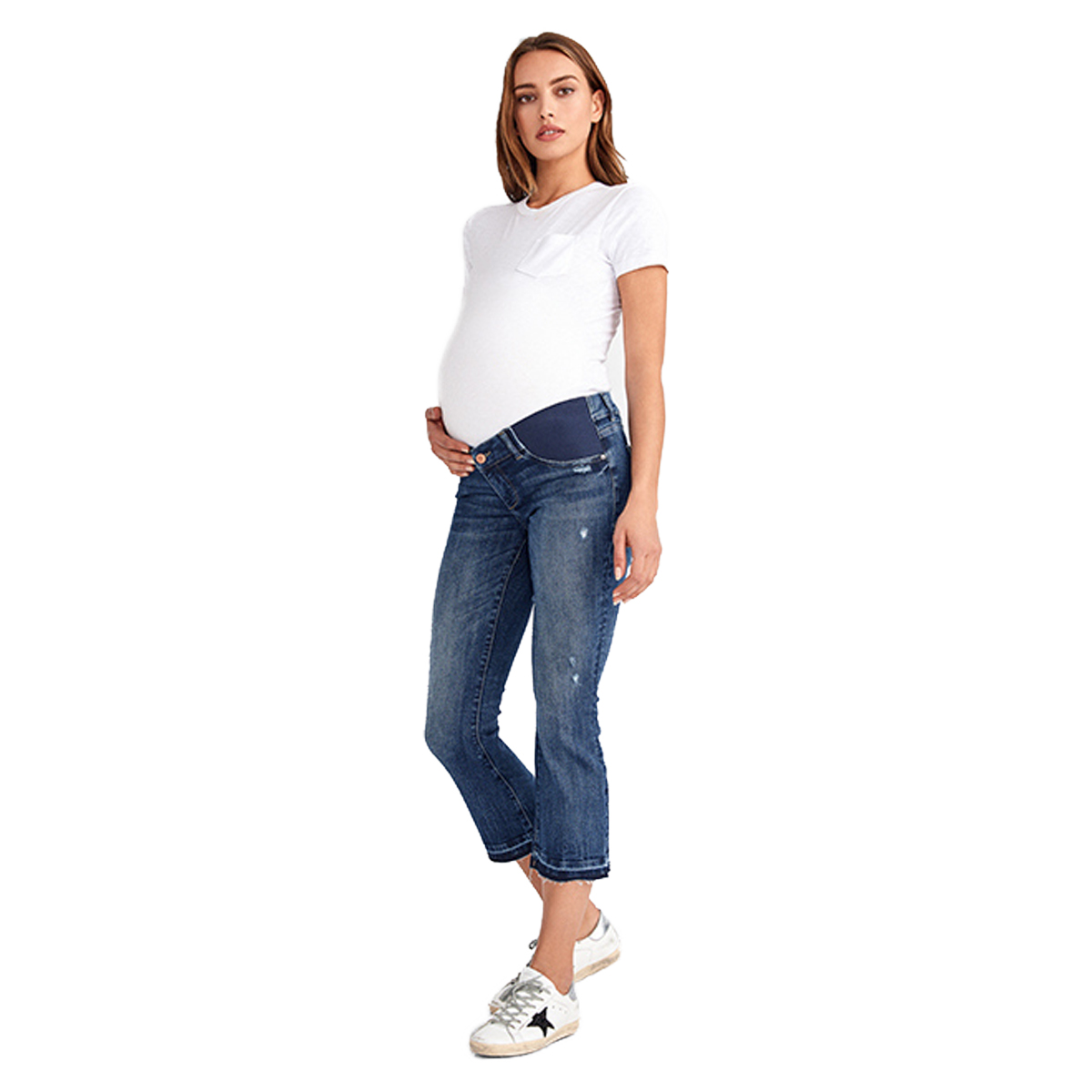 DL 1961 Lara Maternity Jean in Roslyn