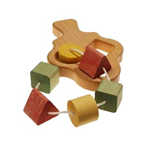 The Wooden Wagon Wooden Shapes in Tree Toy